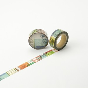 Round Top Washi Tape Syoukei Stationary Chamil Garden Washi Tape