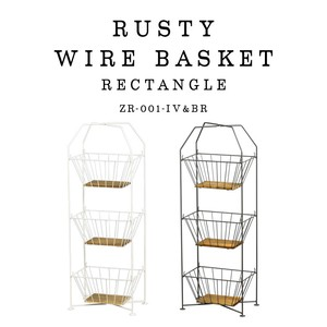 Label Storage Stand Up Lecht Wire Basket