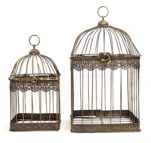 Iron Birdcage Set Square
