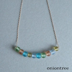 Glass Beads Necklace Accessory