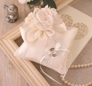 Bouquet Lace Ribbon Pillow Wedding DIY Kit