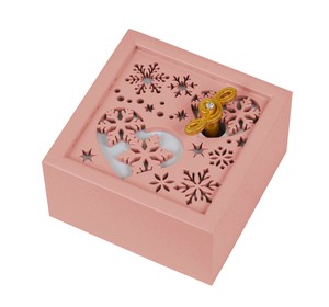 Wooden Music Box Heart Wooden Melody