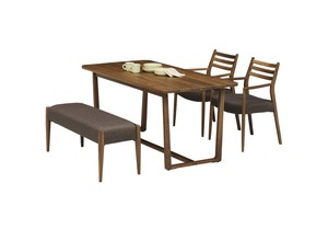 Walnut Luxury Use Dining Set ienowa Dining Set