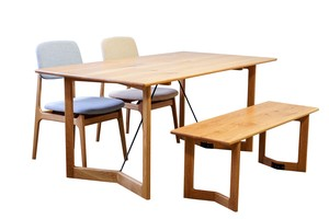 Oak Natural Wood Dining Set ienowa Dining Set