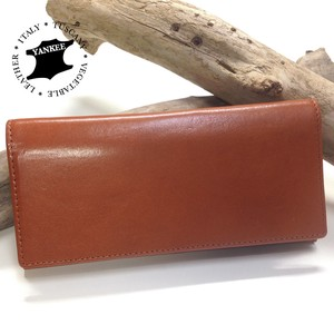 Italy Leather Two Long Wallet