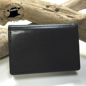 Italy Leather Use Business Card Case