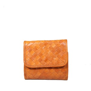fes Leather Mesh Wallet