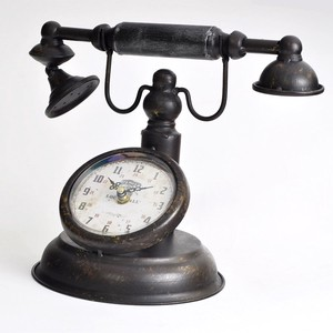 Table Clock Antique Phone Clock/Watch