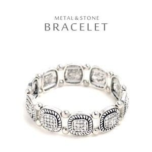 Square Stone Bracelet Luxury Shine Ladies Charm