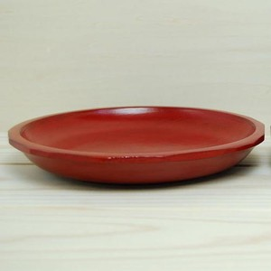 Bread Dish Bread Dish Brush Painting Echizen Lacquerware