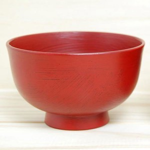 Soup Bowl Soup Bowl Brush Painting Echizen Lacquerware