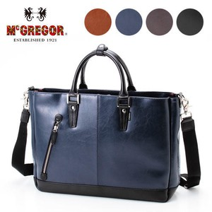 Business Tote Bag A4 Storage Easy Synthetic Leather Material Business