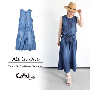 Cafetty Tencel Denim All-in-one