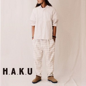 H.A.K.U Men's Linen Material Pants Cool