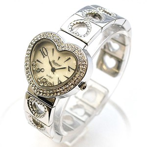 Heart Bangle Watch Ladies Wrist Watch Fashion Accessory