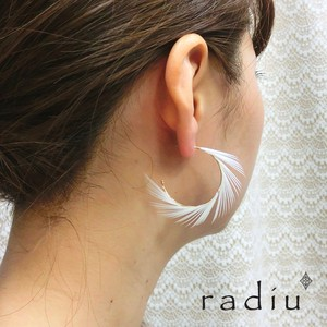 【radiu】-feather foop-ピアス