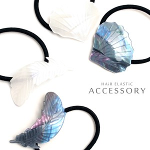 Shell Feather Hair Elastic One People Feel Marine Color