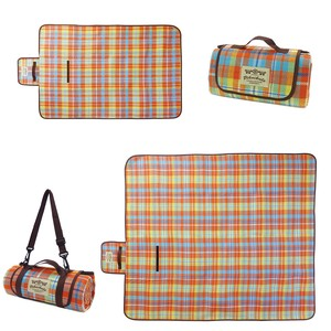 Picnicle Picnic Blanket Madras Checkered