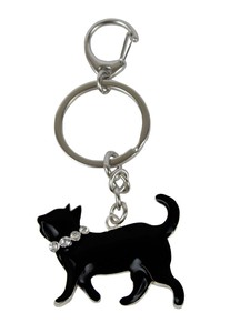 Cat Key Ring Walk Cat Dear Cat Series