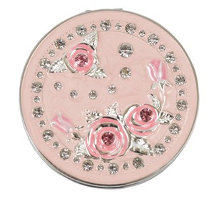 Compact Mirror Rose
