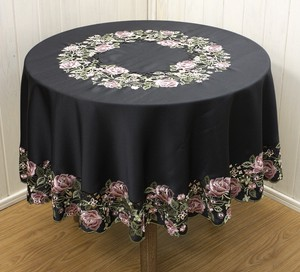 Rose Series Round Tablecloth