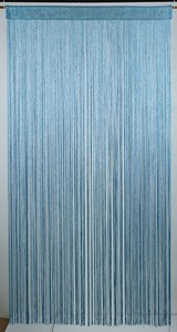 Blue Japanese Noren Curtain Scandinavian Style All Available