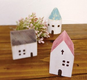 Objects Wooden Miniature House