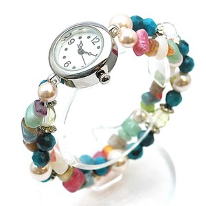 Turquoise Beads Bracelet Watch Turkey Ladies Wrist Watch Accessory