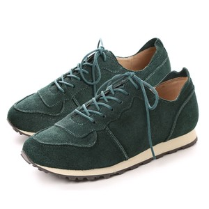 Genuine Leather Cow Leather Suede Sneaker