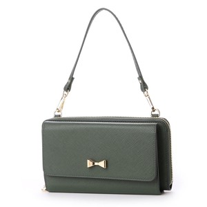 New Color Ribbon Point Wallet Shoulder Bag