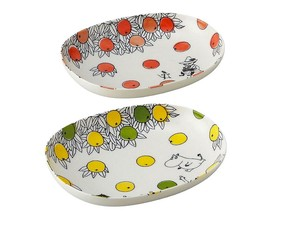 The Moomins Oval Bowl Set