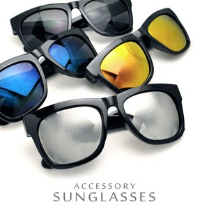 Mirror Sunglass UV Cut Specification Larger Frame Effect