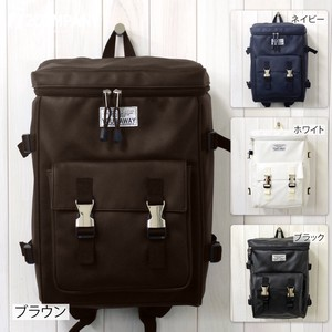 Box Synthetic Leather Backpack