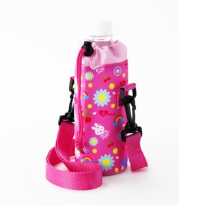Kids Water Bottle Holder Pink