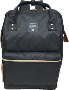 anello Gold Metal Fittings Handle Backpack