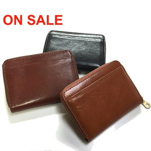 Italy Leather Use Multi Coin Case