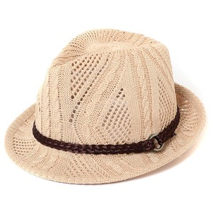 Ladies Men's Cable Felt Hat Hat