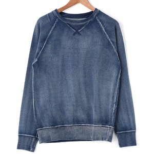 2017 S/S Attached Indigo Gigging Long Sleeve Pullover