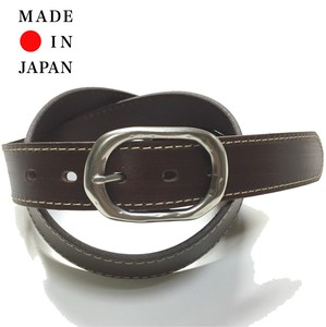 Oil Leather Vintage Processing Belt