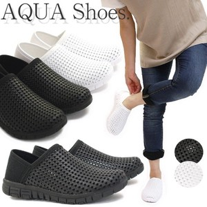 Aqua Shoes Ladies Bag Mono Tone Punching
