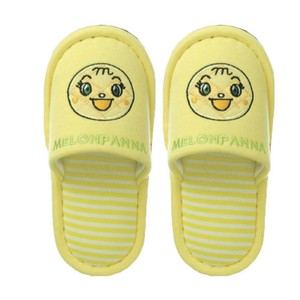 Anpanman Face Slipper Kids Melon Yellow