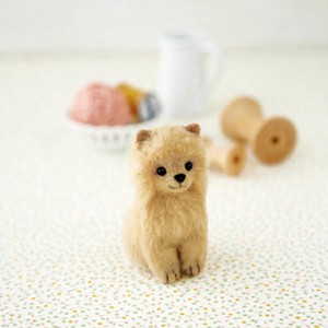 Pomeranian Animal Wool DIY Kit