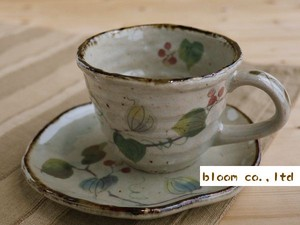 Soil Products Coffee Cup Saucer 1Pc Mino Ware