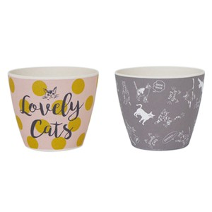 Lovely Cat Series Sketch Adult Point Cup