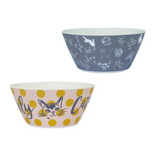 Lovely Cat Series Sketch Adult Point Bowl
