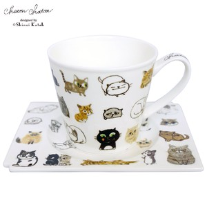 2016 A/W Chaton Chaton Light-Weight Coffee Plate