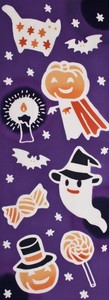 Thusen Halloween Hand Towel Trick Treat WAFUKA