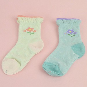 One Point Flower Socks