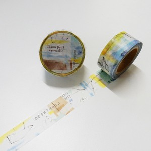 Round Top Masking Syoukei Stationary