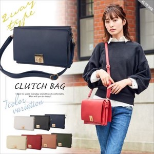 Double Flap Clutch Shoulder